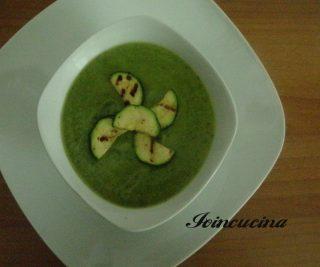 crema di zucchine ricetta veloce