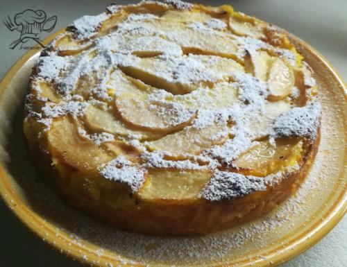 Torta di mele con farina integrale senza latte e burro