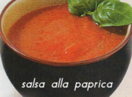 Salsa alla paprika