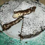 Crostata coperta cacao ricotta mascarpone