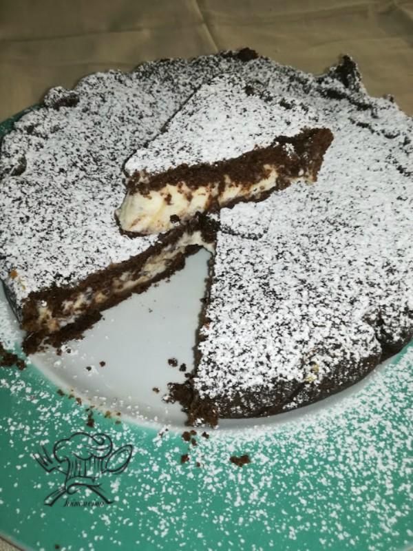 Crostata Coperta Cacao Ricotta Mascarpone Ioincucina