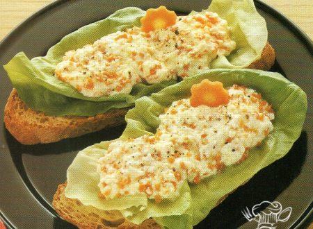 Crostini alle carote