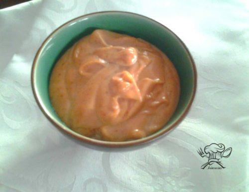 Salsa rosa senza cognac