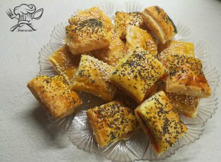 Salatini al salmone affumicato e parmigiano