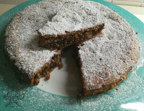 Torta rustica cioccolato e noci