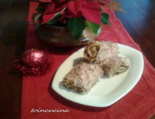 Tronchetto di Natale con panettone