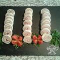 Girelle di pane bianco