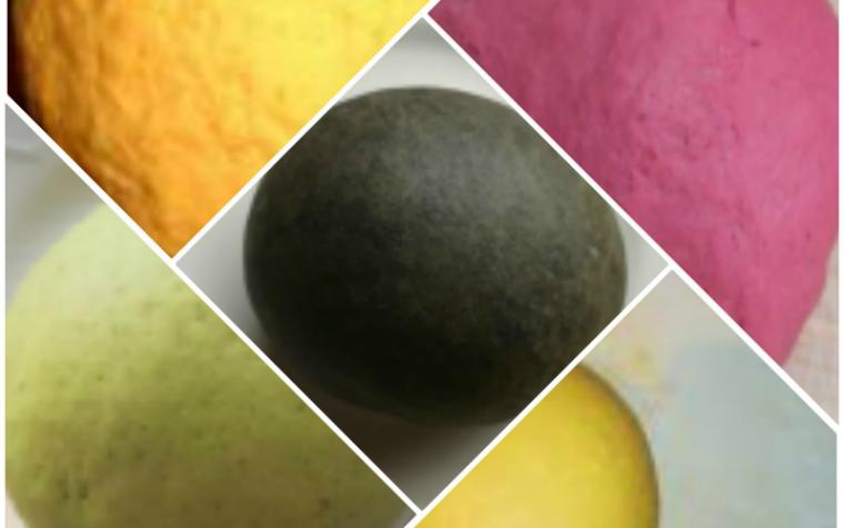 Pasta fresca all'uovo colorata