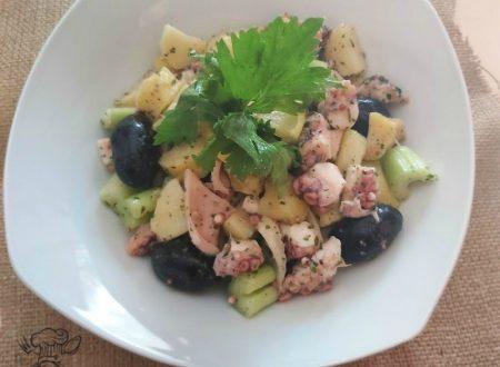 Insalata di polpo – la mia ricetta