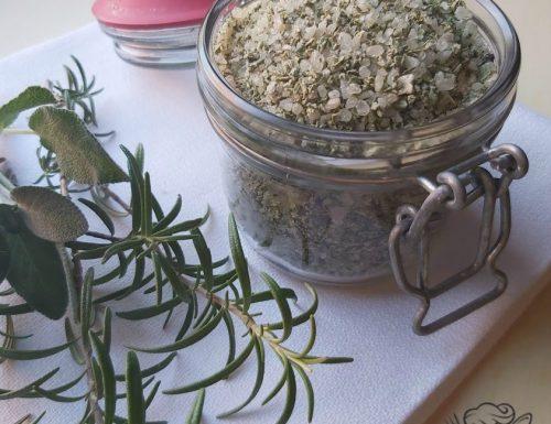 Sale aromatico alle erbe