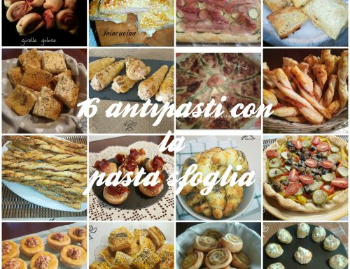 Pasta sfoglia: 16 ricette di antipasti e stuzzichini