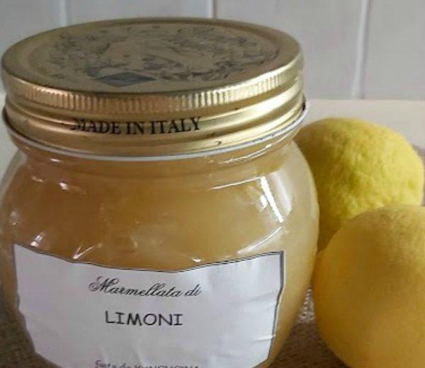 Marmellata di limoni con Bimby