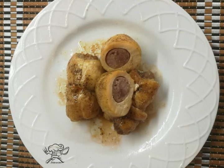 involtini di pollo con salsiccia 1