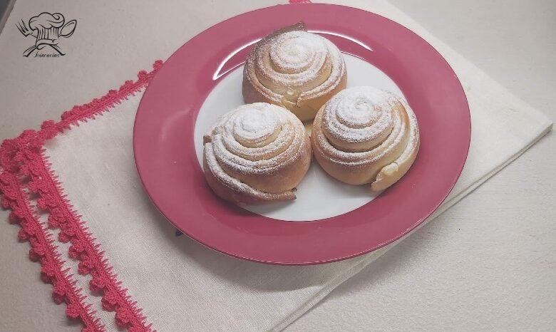 Girelle dolci alla vaniglia