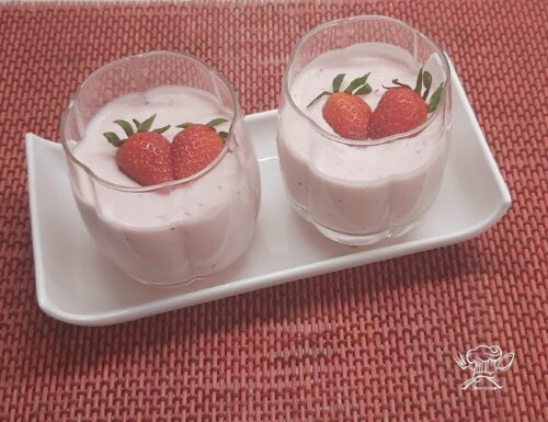 Mousse alle fragole