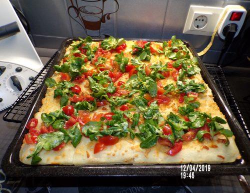 Pizza fatta in casa buonissima