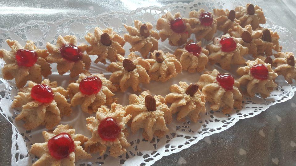 Biscotti con la Pasta di mandorle