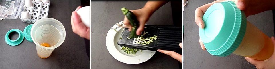 frittatine con zucchine e mozzarella1