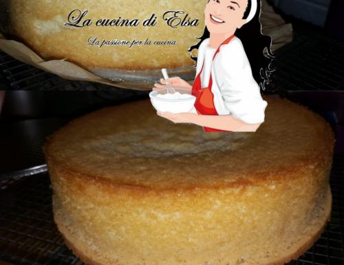 Pan di Spagna con lievito.