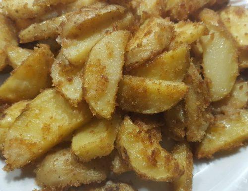Patate con Paprika e pangratto