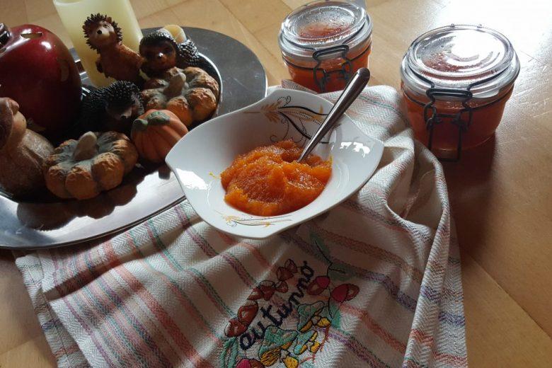 Marmellata di zucca e mele Bimby