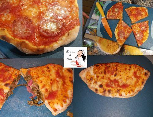 Pizza con lievito madre Liquido Licoli.