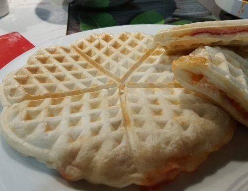 Pizza waffel ripieni