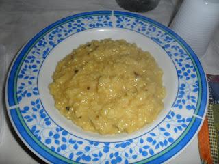 Risotto funghi e zafferano ricetta gustosa
