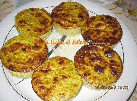 Flan di zucchine e asparagi ricetta contorno