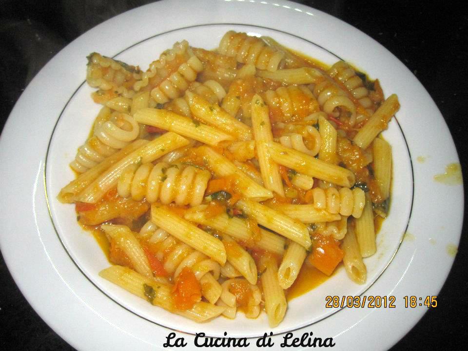 Ricette pasta con peperoni gialli