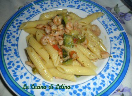 Penne zucchine e gamberetti ricetta semplice