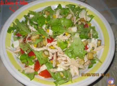 Insalata di pollo ricetta leggera