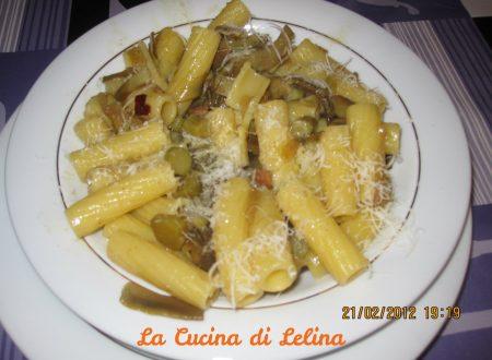 Pasta carciofi e cotto ricetta sfiziosa