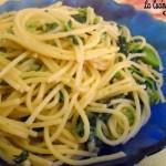 Spaghetti con cime di rapa ricetta pugliese