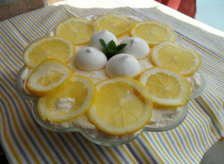 Tiramisù al limone