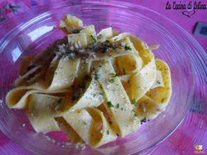 Pappardelle alla boscaiola ricetta semplice | La Cucina di Lelina
