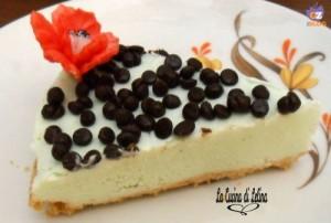 Cheesecake ciocco-menta ricetta estiva   La Cucina di Lelina