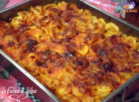 Orecchiette gratinate ricetta piatto unico