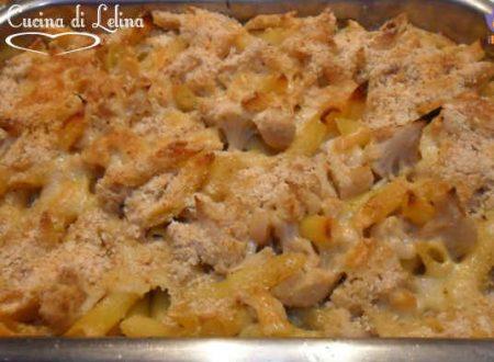 Pasta con cavolfiore gratinata ricetta al forno