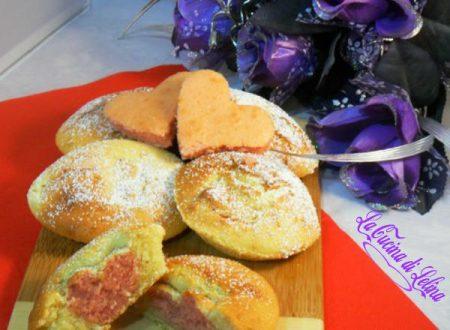 Muffin con cuore ricetta San Valentino