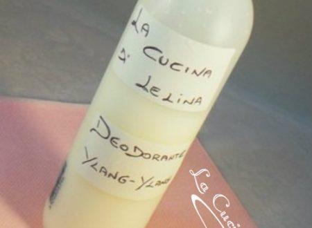 Deodorante ylang-ylang ricetta homemade