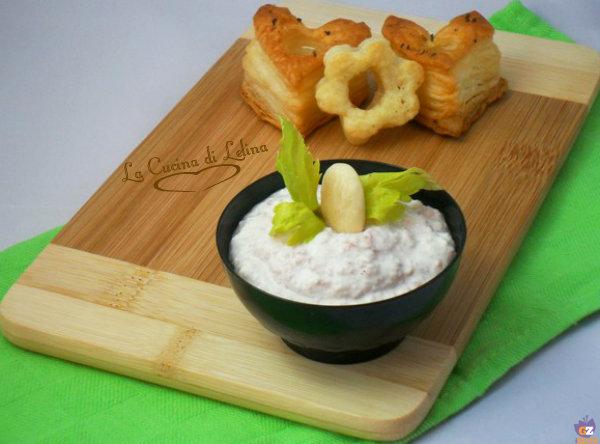 Mousse di ricotta e mortadella ricetta gustosa | La Cucina di Lelina