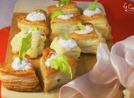 Cuori di sfoglia salati ricetta di San valentino