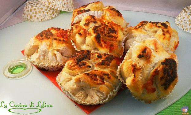 Pizza muffin ricetta antipasto | La Cucina di Lelina