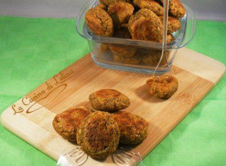 Polpette vegetariane al forno ricetta senza uova