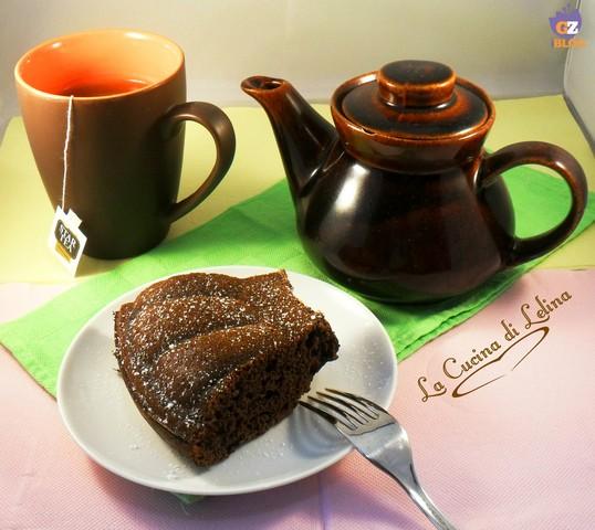 Ciambellone cacao e arancia ricetta light | La Cucina di Lelina