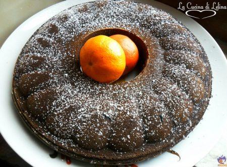 Ciambellone cacao e arancia ricetta light