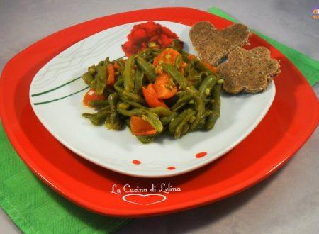 Insalata fagiolini e pomodorini ricetta contorno