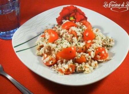 Insalata di riso ricetta veloce