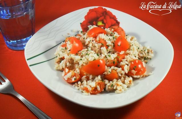 Insalata di riso ricetta veloce | La Cucina di Lelina